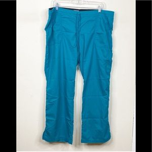 Grey's Anatomy XL Petite Teal Scrub Pants